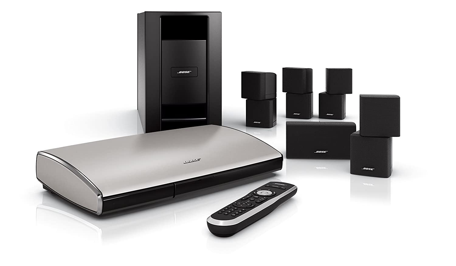 amazon com bose lifestyle t20 home theater system black rh amazon com Wireless 5.1 Surround Sound System Bose Wireless Surround Sound