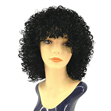 Amazon Com Gridnn Women Wig Synthetic Kinky Curly Wig For Women
