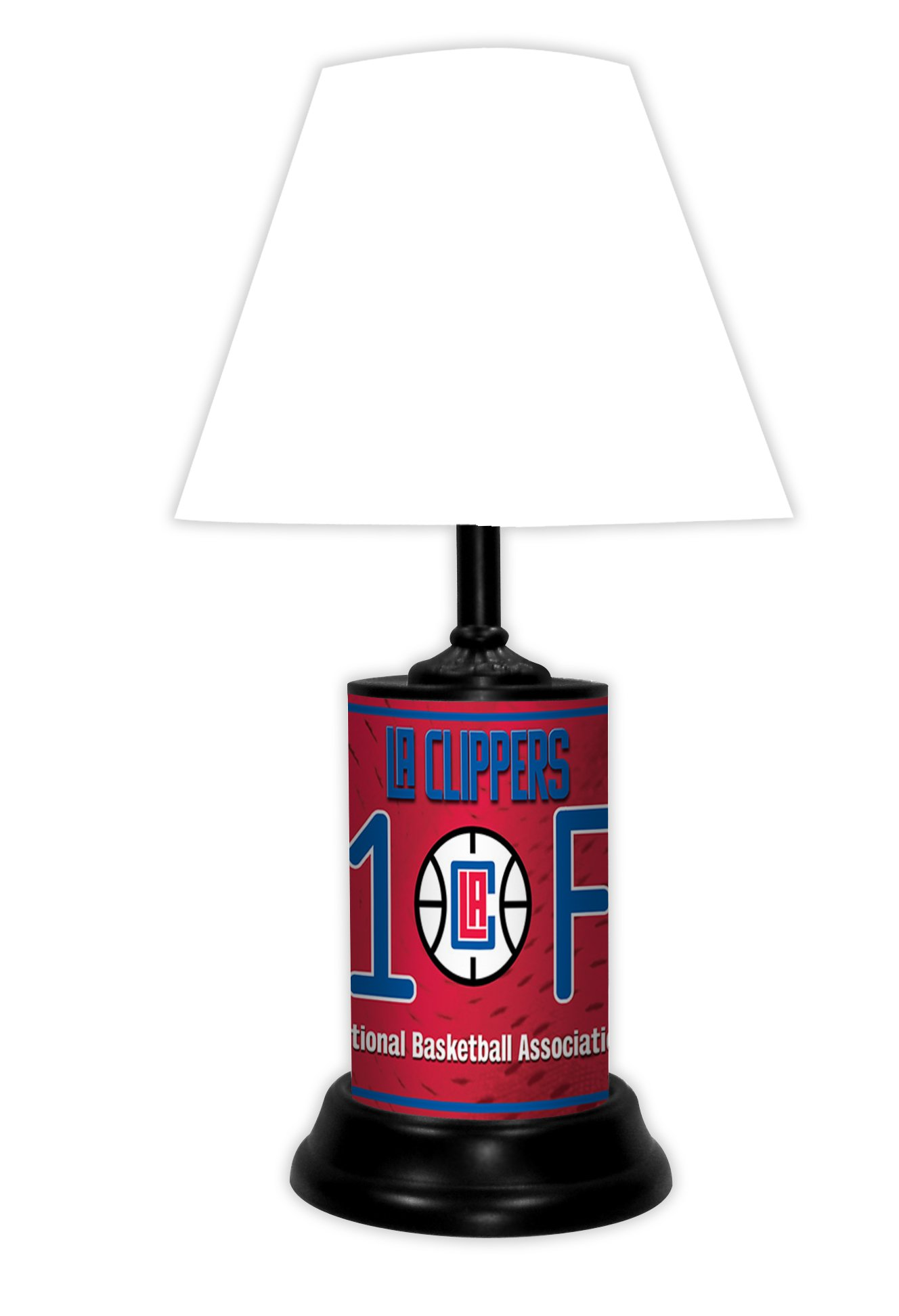 LOS ANGELES CLIPPERS NBA LAMP - BY TAGZ SPORTS