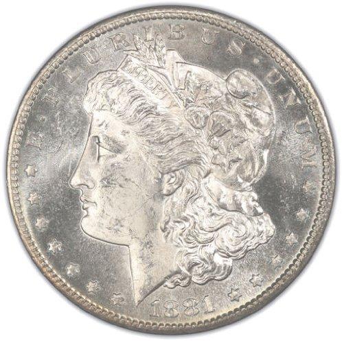 Pre-1921 Morgan Silver Dollar Gem Brilliant Uncirculated (BU) Condition (1878-1904) Set Uncirculated