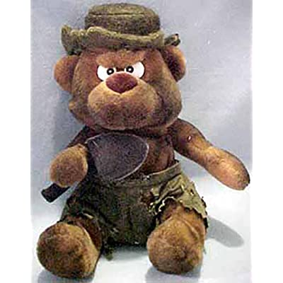 1 X BURNY THE BEAR MEANIES Series 2 Bean Bag Plush Toy From The Idea Factory: Toys & Games