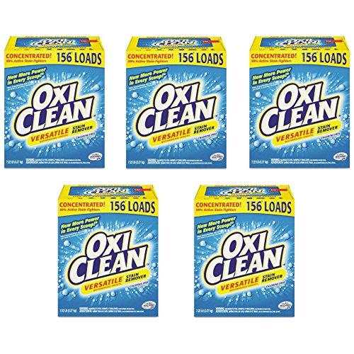 OxiClean Versatile Stain Remover, 7.22lb Box - Pack of 5 by OxiClean