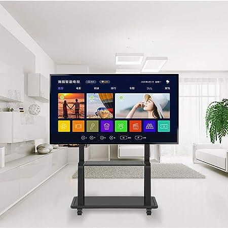 WUJIA Casa móvil para TV de balanceo Bandeja de TV, Bloqueo de Las Ruedas 70,55