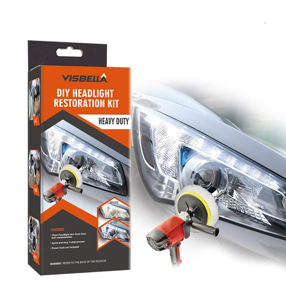 Visbella-Professional Headlight Restoration Kit