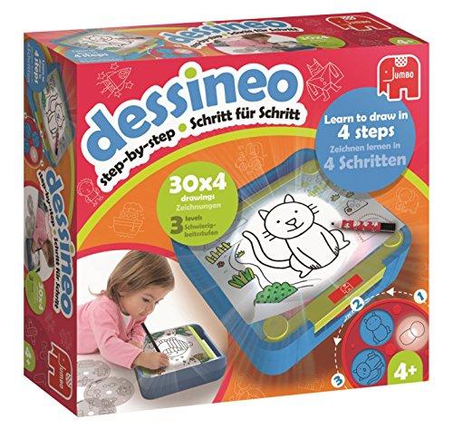 Dessineo 19573Mon premier Jeu pour apprendre à dessiner l'apprentissage Aid
