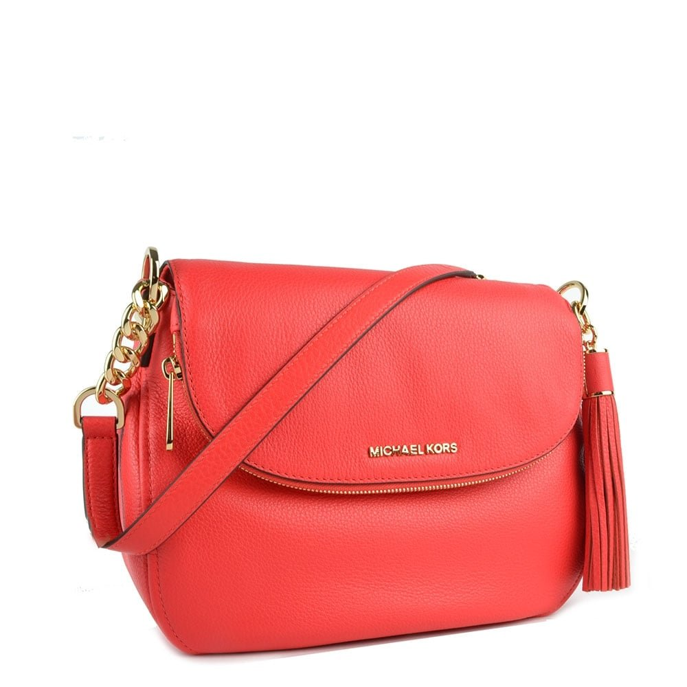 1dd4a46942c3 MICHAEL by Michael Kors Bedford Coral Tassel Convertible Shoulder Bag one  size Coral  Amazon.co.uk  Shoes   Bags
