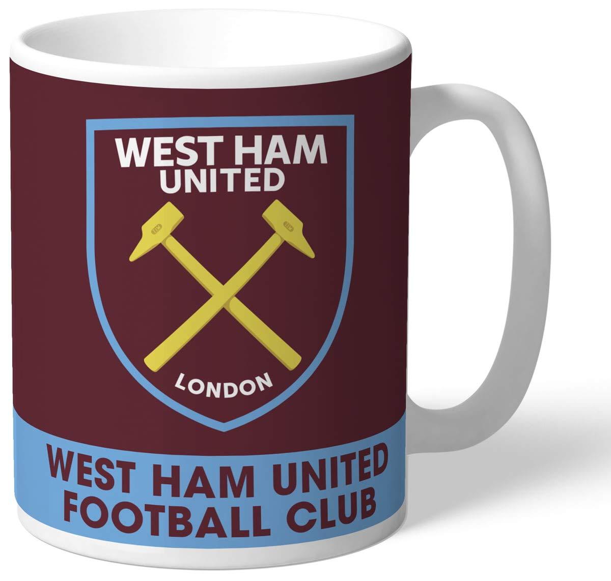PERSONALISED Official West Ham United FC Proud Mug FREE PERSONALISATION