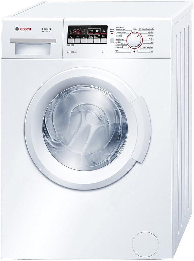 Bosch WAB20266EE - Lavadora De Carga Frontal Wab20266Ee De 6 Kg Y ...