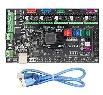 Impresora 3D Tarjeta de control MKS Gen V1.4 Tarjeta madre ...