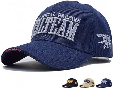 MAOZIJIE Us Navy Seal Team Tactical Cap Hombres Gorra De Béisbol ...