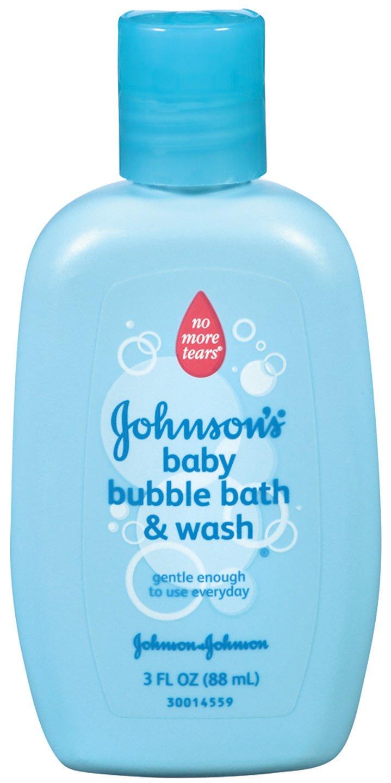 Amazon.com: Johnson\'s Baby Bubble Bath & Wash, 3 Fl. Oz: Health ...