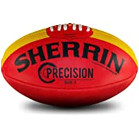 Sherrin Precision Synthetic Football, Red (4231/KIK)