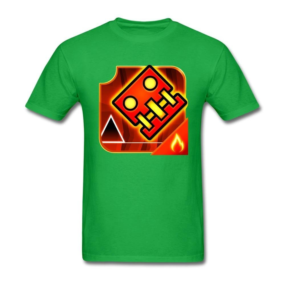 SLJD Men's Geometry Dash Meltdown Design T Shirt