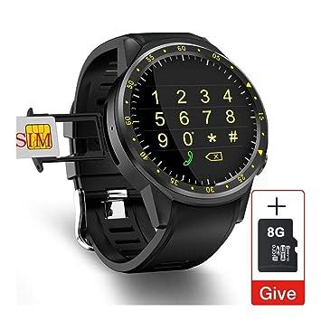 Smartwatch Inteligente GPS del reloj de los hombres con la tarjeta ...
