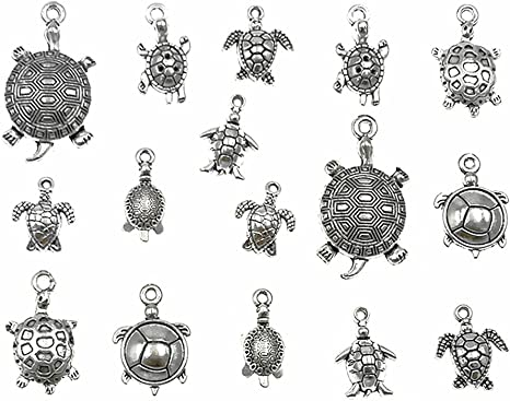 DIY 16pcs Tibet silver Dragonfly Necklace Charm Pendant beads Jewelry Making!!