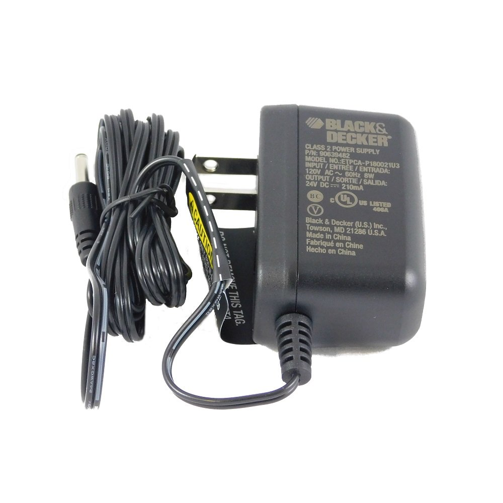 Black & Decker GC1800 / GC180WD 18V Drill Replacement Pin Style Charger, 90540242 Stanley Black&Decker