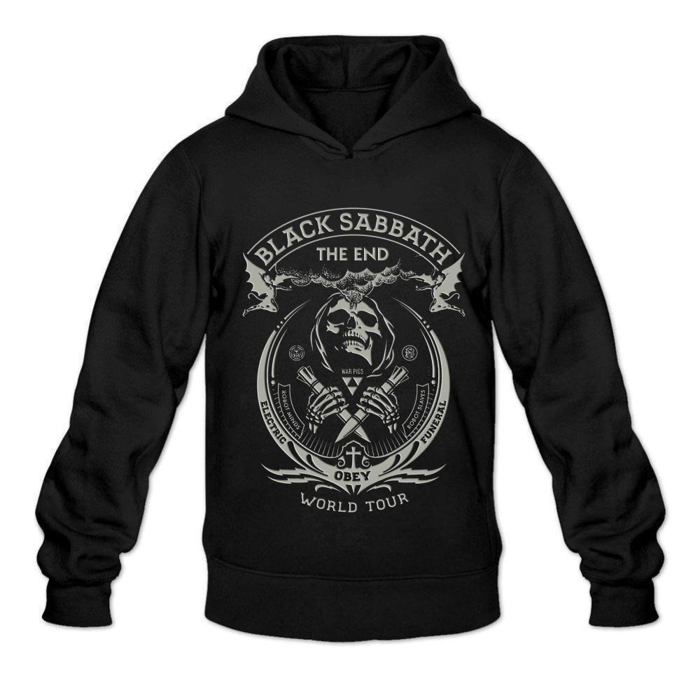 Ivantop Black Sabbath Poster 2016 Fashion S Black Shirts