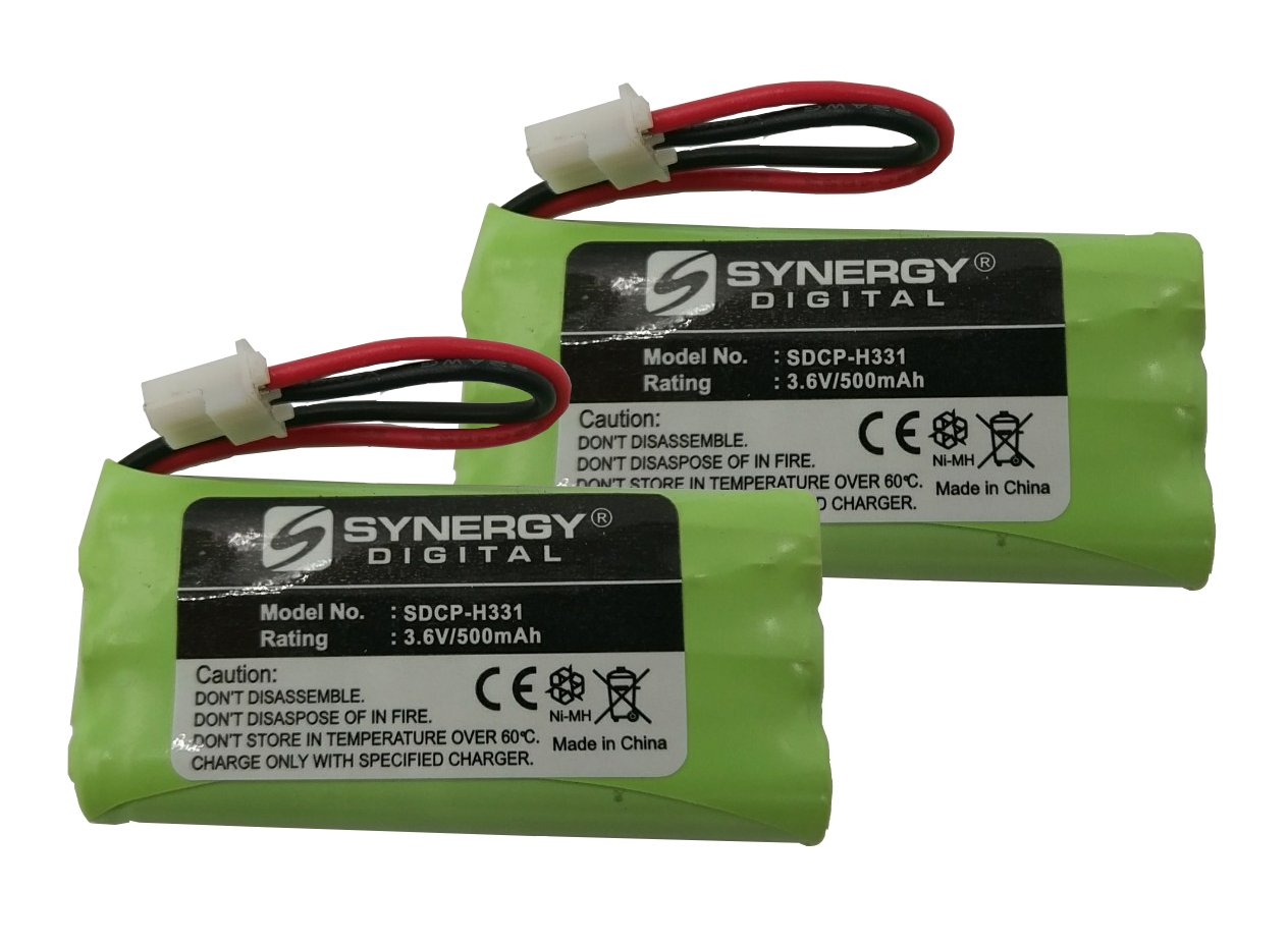 Uniden 5146 Cordless Phone Battery Combo-Pack Includes: 2 x SDCP-H331 Batteries Synergy Digital AK156304