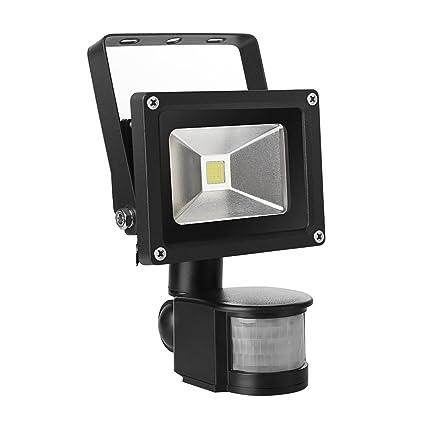 I-Lumen Greenline - Foco led para exteriores con detector de movimiento opcional (10