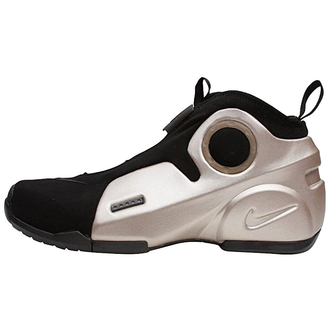 buy online df5dc f2038 Nike Air Flightposite 2 Le Men s Basketball Shoe (10, Metallic Zinc Black)