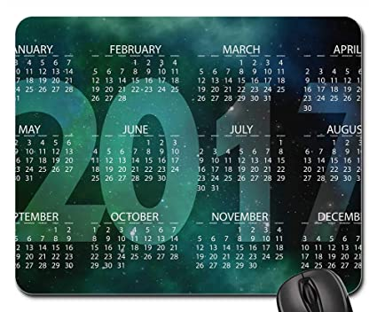 Amazon.com : Mouse Pads - Agenda Calendar Schedule Plan Year ...