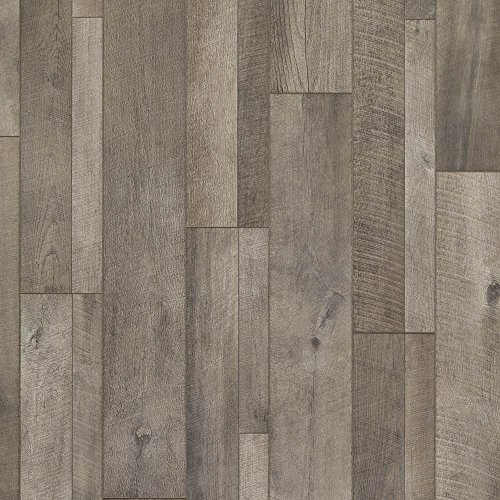 Mannington Laminate Flooring (Mannington 28200 (S) Restoration Collection Keystone Oak Laminate Flooring, 12Mm, Iron)
