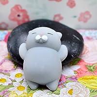 SSLLC Stresslindrande Leksaker Mochi Djur Stress Klämleksaker katt Squishy Relief Kawaii katt djur hand Squeeze leksaker…