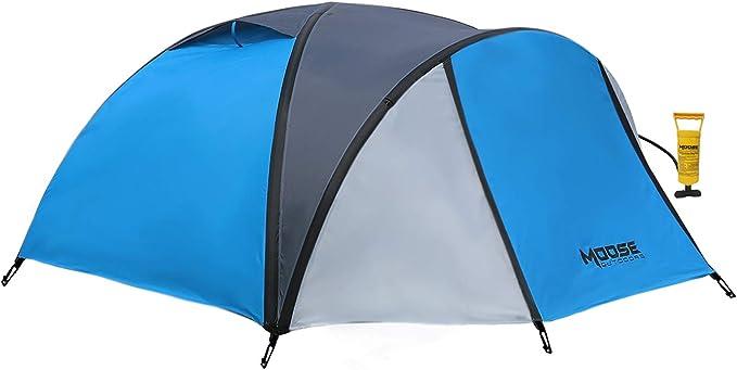 Moose Outdoor aufblasbares Zelt, Familienzelt für Camping