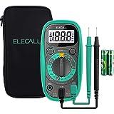 Pocket Digital Multimeter Tester Voltmeter with Case Ohm Volt DC AC Voltmeter Amp Test and Diode Tester Multimeter with LCD D