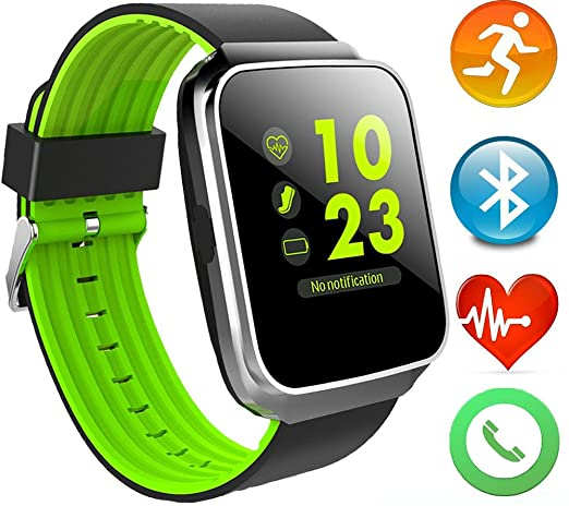 Amazon.com: paiwei Z40 reloj inteligente Fitness Rastreador ...