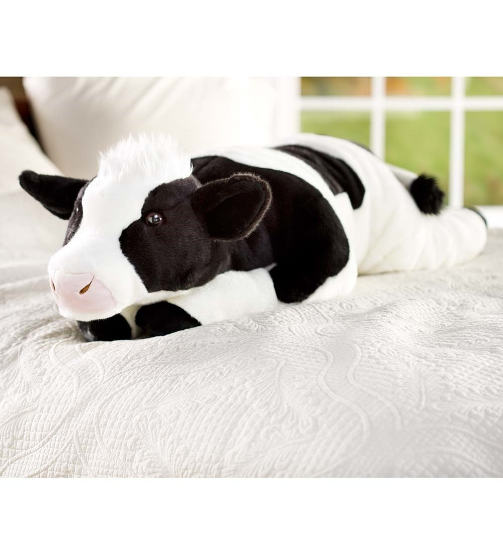 Wind & Weather Cow Body Pillow by Wind & Weather