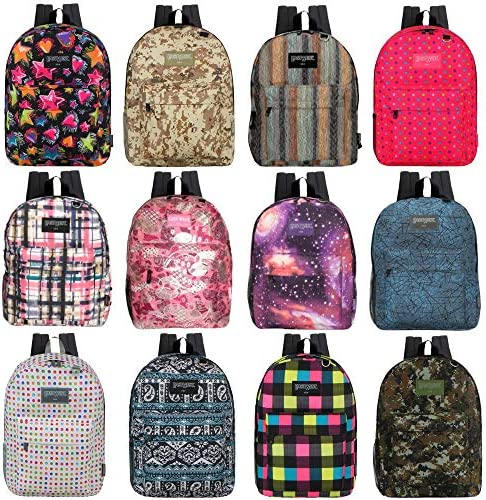 Wholesale Classic Backpacks Randomly Assorted product image
