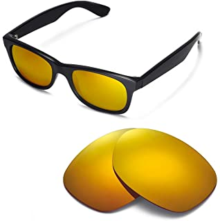 00318ea387 Walleva Replacement Lenses for Ray-Ban Wayfarer RB2132 52mm Sunglasses - 9  Options Available