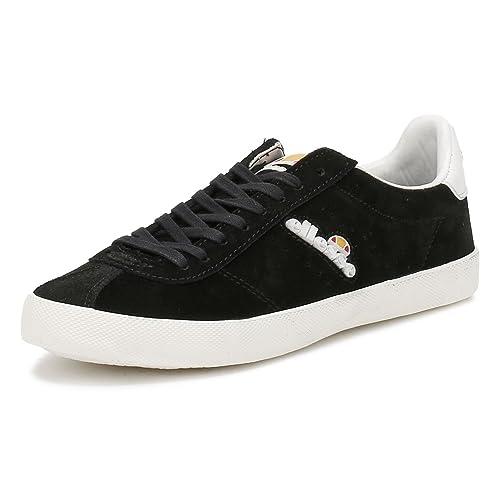 Ellesse Hombres Negro Avellino Vulc Zapatillas: Amazon.es: Zapatos y complementos