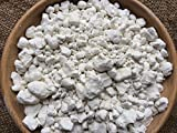 WHITE Clay in the granules edible chunks (lump) natural for eating (food), 4 oz (113 g)