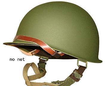 osdream Retro versión segunda guerra mundial nosotros Militar acero M1 verde casco Replica con Red/