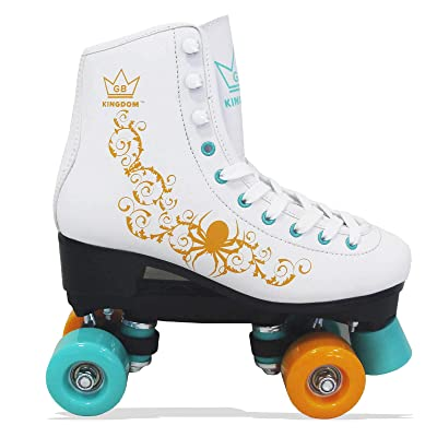 Kingdom GB Vector v2 Quad Wheels Roller Skates : Sports & Outdoors