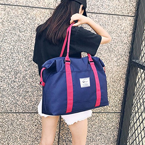 Blue Bags Casual Blue Bag Messenger YJYDADA Big Dark Dark Shoulder Oxford Tote Women Bag Size wgfwqAt7HW