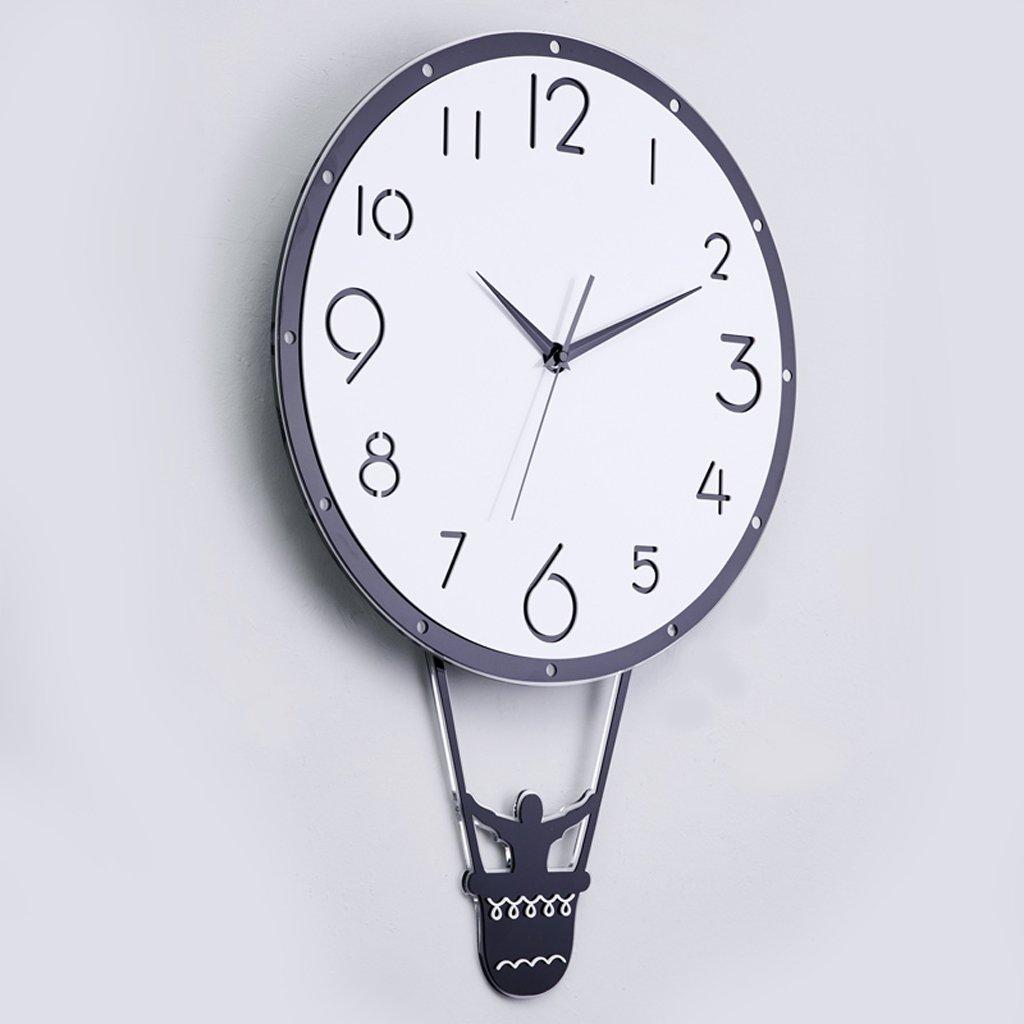 掛け時計 ホームクロックスイングクリエイティブウォールチャートモダンウォールクロックミュートリビングルームベッドルームクォーツ時計 Rollsnownow (サイズ さいず : 40 cm 40 cm) B07BMRDM2S 40 cm 40 cm 40 cm 40 cm