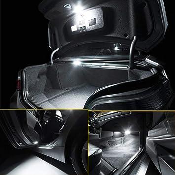 Xukey 15pcs Car Interior LED Lights Kit For Grand Vitara 2006-2009 2010 2011 2012 2013 Dome Trunk License Plate Bulbs 6000K