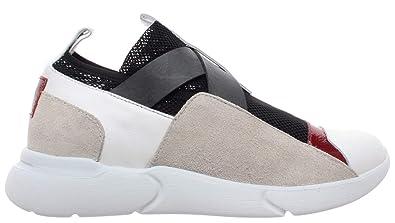 quality design 08ef9 4ad75 IXOS Scarpe Donna Sneakers Multi Pelle Slip On Nuove: Amazon ...