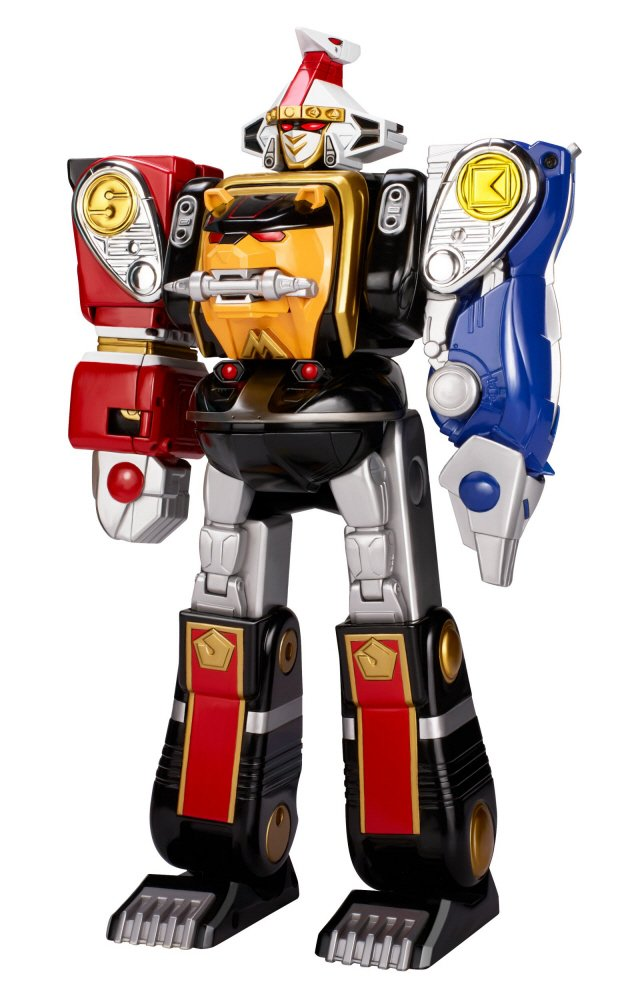 Image result for mighty morphin power rangers megazord