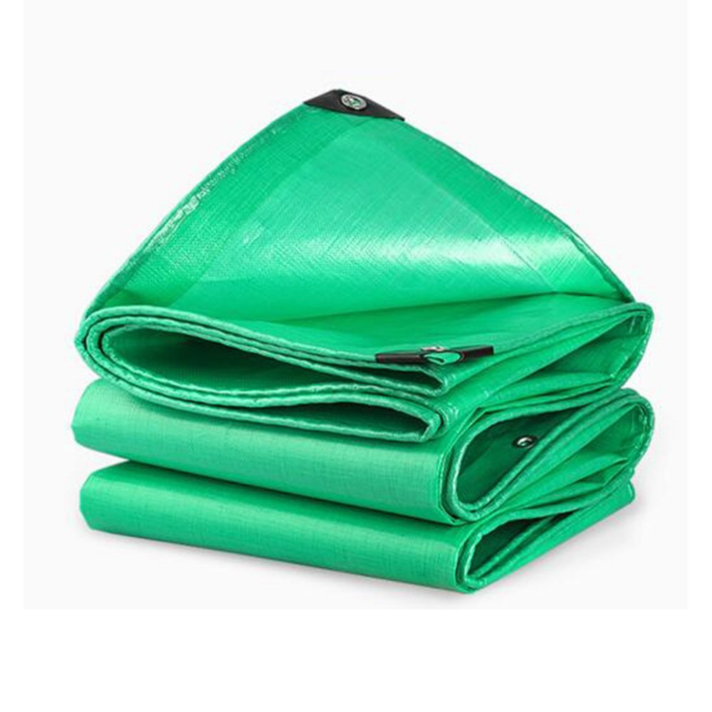 vert 6x7m Pengbu MEIDUO BÂches BÂche extérieure Tissu étanche Imperméable à l'eau de Prougeection Contre Le Soleil Ombre Isolation Pluie Canopy Tissu Camion Toile -0.38mm 210g m² pour l'extérieur