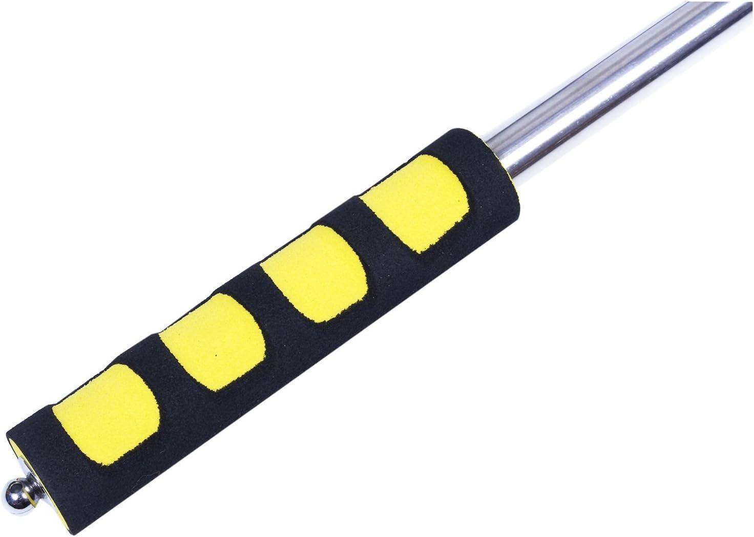 RETYLY M/ástil telesc/ópico port/átil extensible para banderas y calcetines de viento 2 m