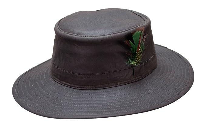 Mens Aussie Sun Hat Fishing Hunting Walking Shooting 100% Wax Cotton S-XXL  NEW  Amazon.co.uk  Clothing 34238ca5128