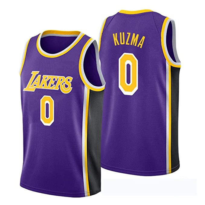 size 40 247e4 af27d Kyle Kuzma # 0 Men's Basketball Jersey - NBA Los Angeles ...
