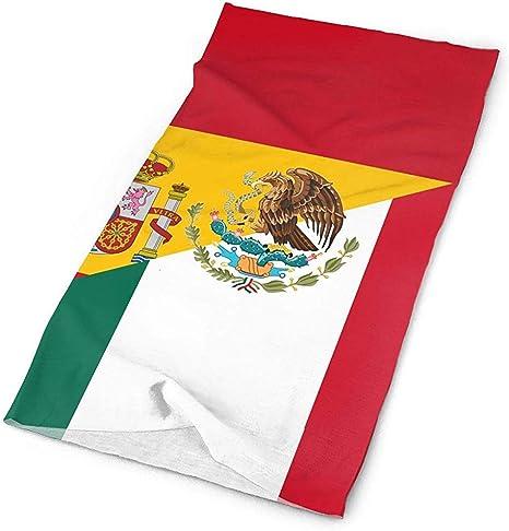chipo Headwear Bandera De España Y México Ciclismo Multifuncional ...