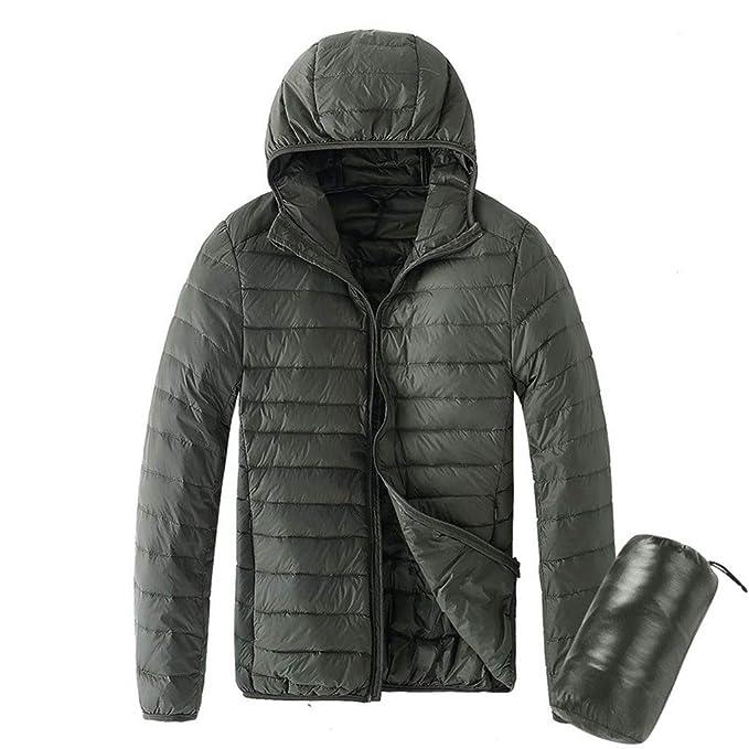 Piumino Invernale Uomo per Cappotti da Uomo, Rcool Giacca di