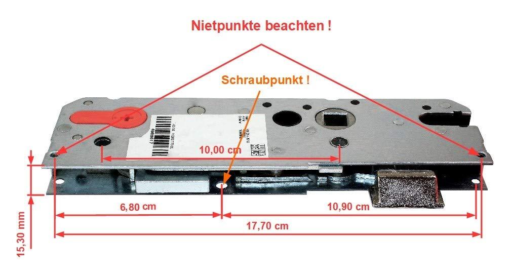 Winkhaus Reparatur Schlosskasten Hauptschloss STV TP3 Entfernung 92mm
