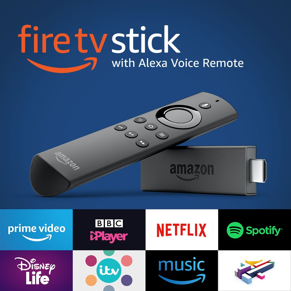 Fire TV and Fire TV Stick voice remote